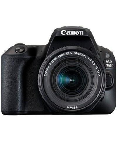 Canon EOS 200D noir et objectif EF-S 18-55mm f/3.5-5.6 III